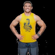 Regata Lutador Masculina Amarela